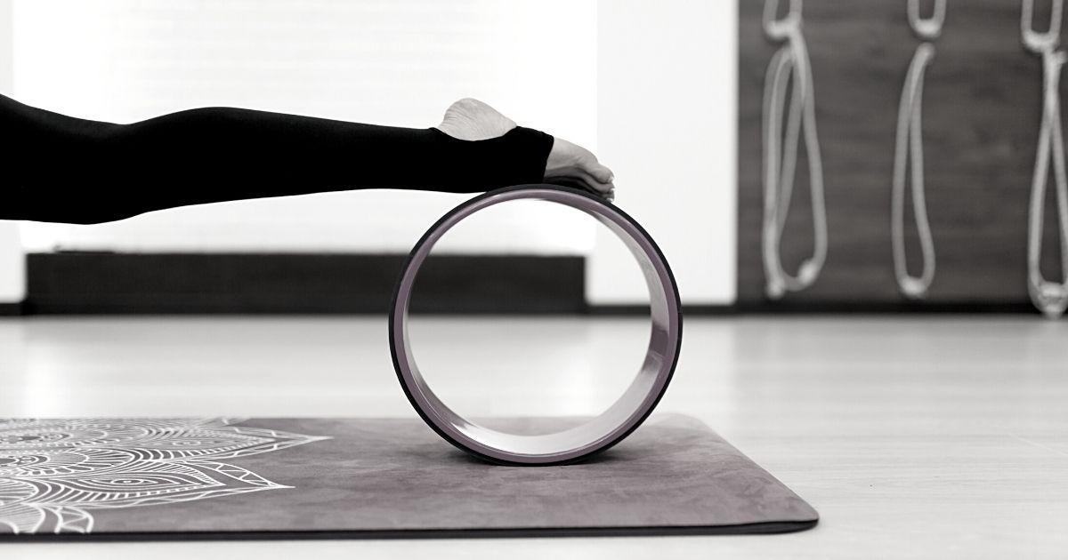 Roue de yoga en liège